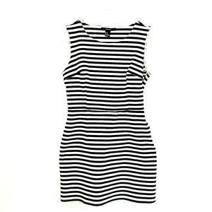FOREVER 21 Stretchy Striped Dress